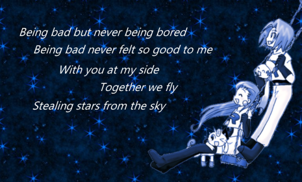 With you at my side together we fly