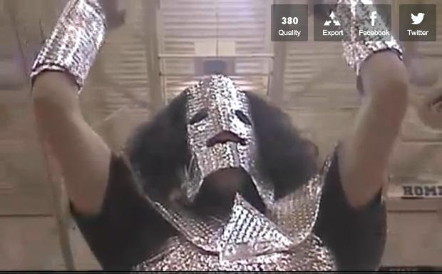 Metalman hace su aparición estelar