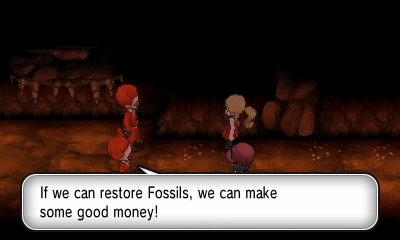 Gastar una fortuna reviendo fósiles para sacar dinero... genius!!